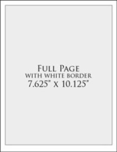 Full Page with white border